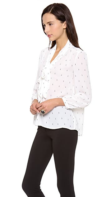 Juicy Couture Pearl Drop Blouse