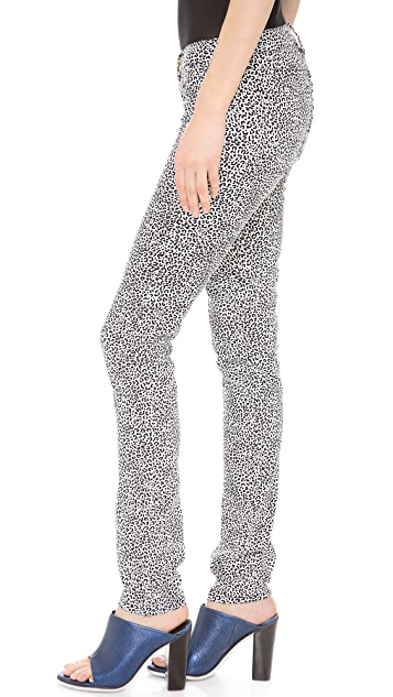 Juicy Couture Wild Cheetah Skinny Jeans