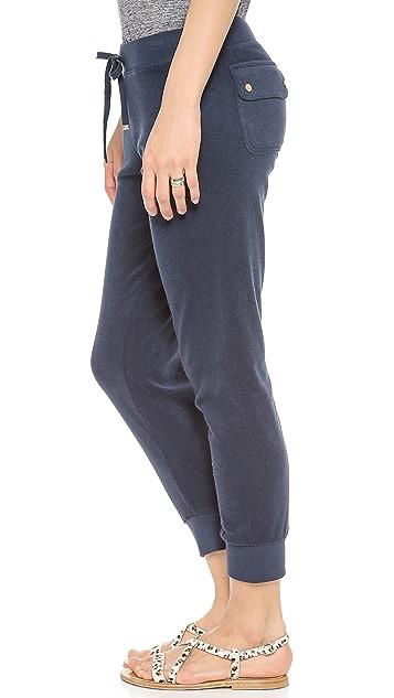 Juicy Couture Terry Slim Capri Pants