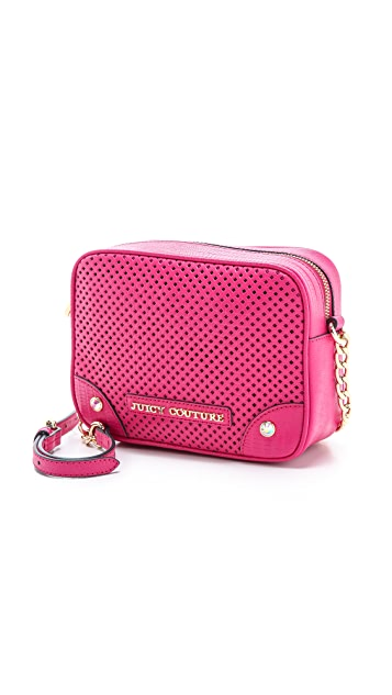 Juicy Couture Sierra Perforated Camera Cross Body Bag