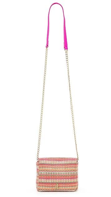 Juicy Couture Rosewood Mini G Stripe Bag