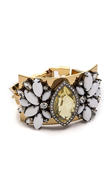 Juicy Couture Brillant Blooms Gemstone Drama Bracelet