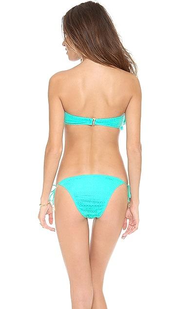 Juicy Couture Prima Donna Ruffle Bikini Top
