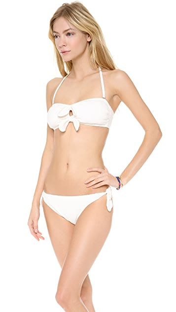 Juicy Couture Bow Chic Bandeau Bikini Top
