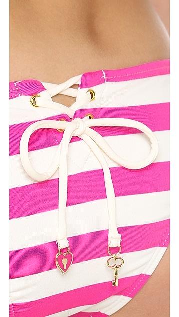 Juicy Couture Boho Stripe Bikini Bottoms