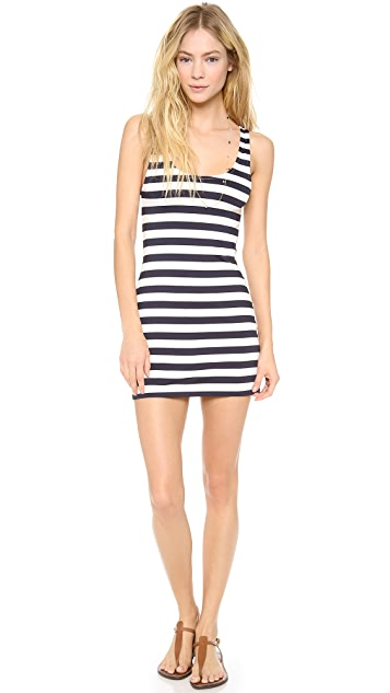 Juicy Couture Boho Stripe Cover Up Dress