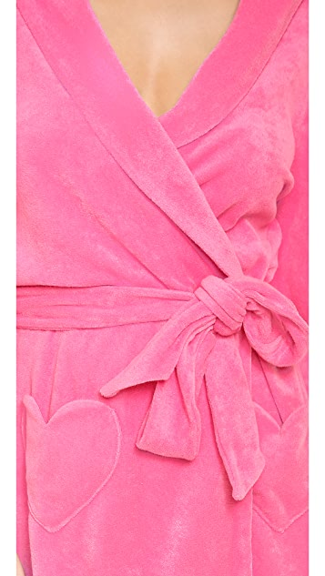 Juicy Couture Cozy Terry Robe