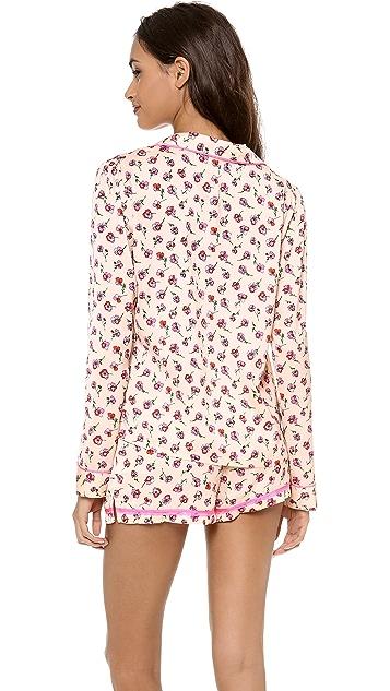 Juicy Couture Frolic Floral PJ Top