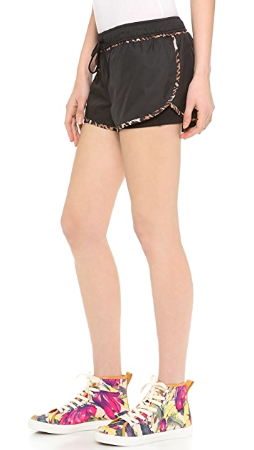 Juicy Couture Juicy Sport Double Layer Shorts