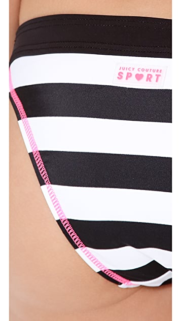 Juicy Couture Juicy Sport Promenade Stripe Block Bottoms
