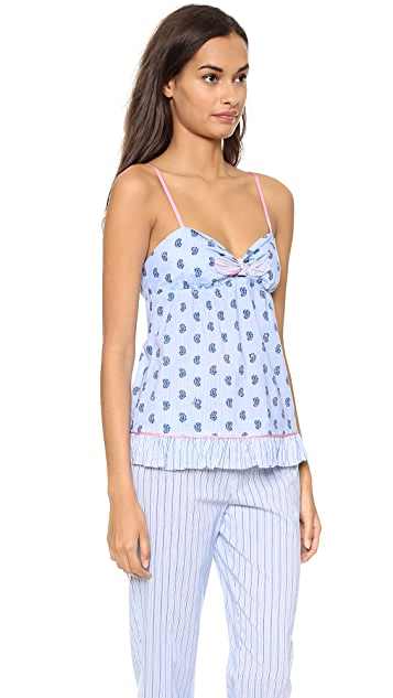 Juicy Couture Petite Paisley Camisole