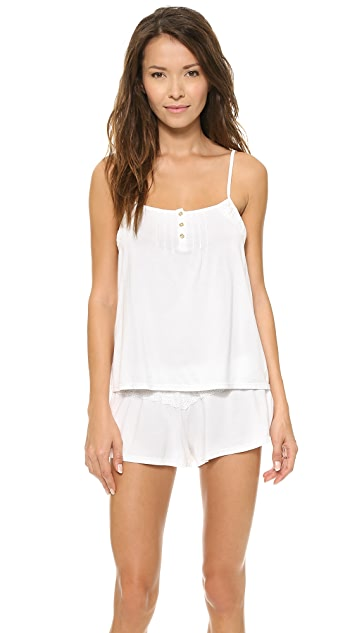 Juicy Couture Eyelet Modal Cami