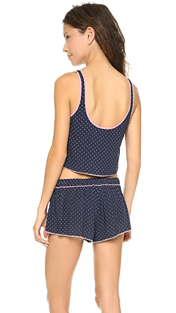 Juicy Couture Ditsy Dot Dobby Camisole