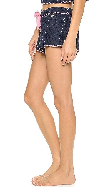Juicy Couture Ditsy Dot Dobby Shorts