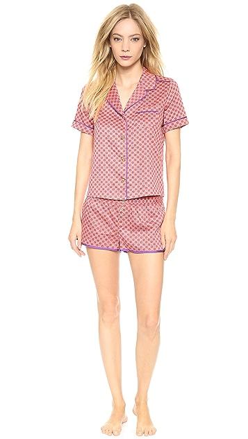 Juicy Couture Printed Sateen PJ Shorts