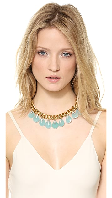 Juicy Couture Large Stone Drama Necklace