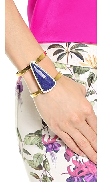 Juicy Couture Large Gemstone Cuff Bracelet