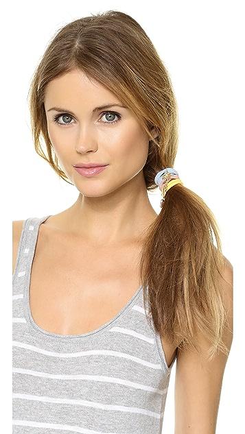 Juicy Couture Set of 3 Hair Elastics
