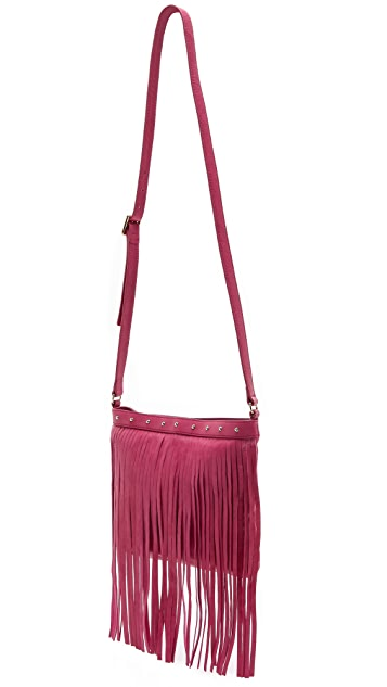 Juicy Couture Большая сумка через плечо Heritage с бахромой