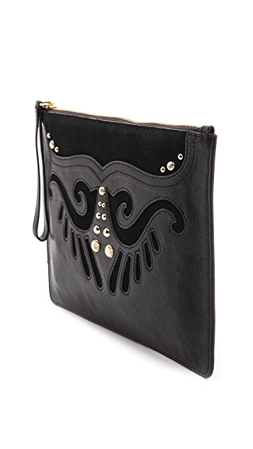 Juicy Couture Heritage Zip Top Pouch