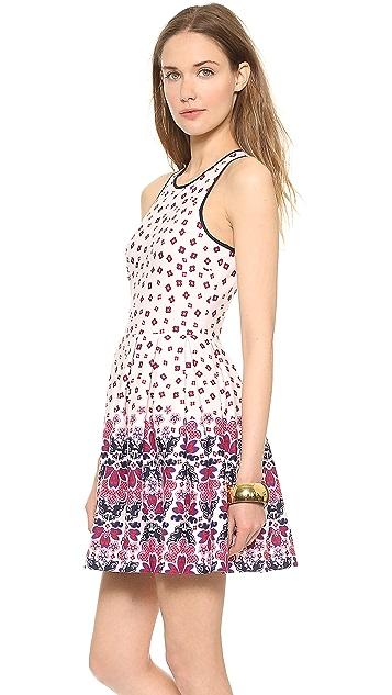 Juicy Couture Deco Floral Ponte Dress