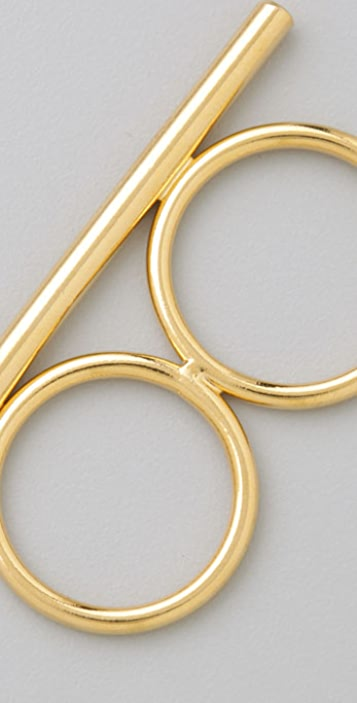 Jules Smith Knuckle Lover Stackable Ring