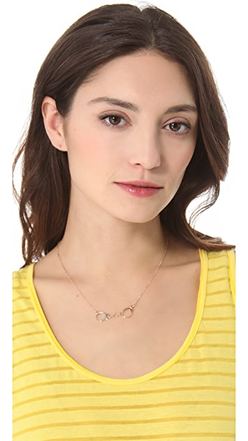 Jules Smith Friskey Charm Necklace