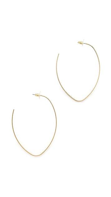 Jules Smith Repeller Hoop Earrings