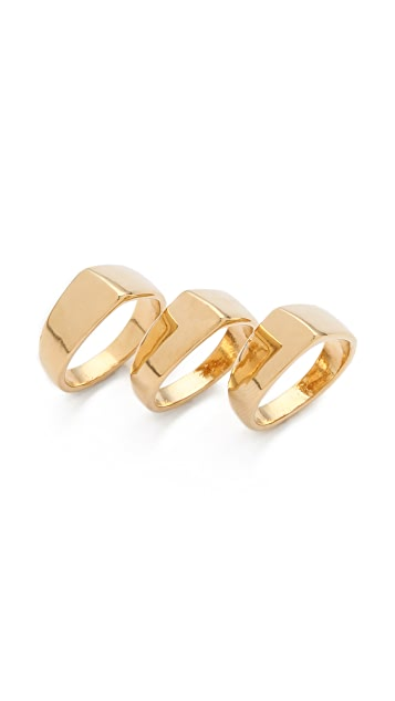 Jules Smith Chevron Stack Rings