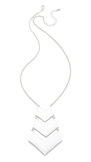 Jules Smith Chevron Necklace