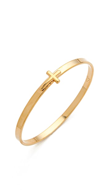 Jules Smith Cross Bangle Bracelet