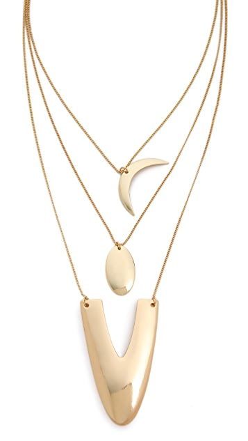 Jules Smith Triple Layer U Necklace