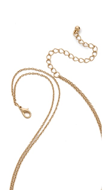 Jules Smith Spike & Tooth Layer Necklace