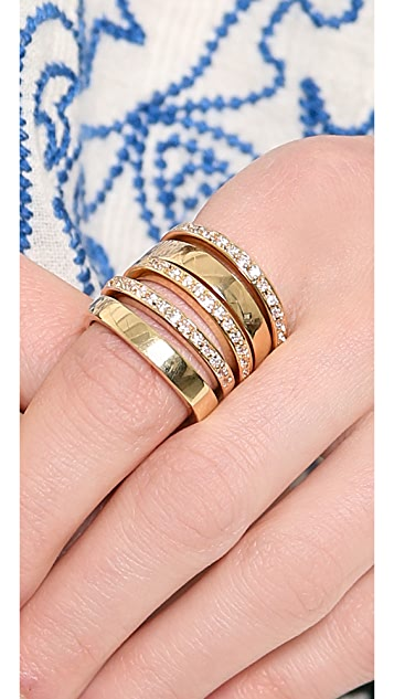 Jules Smith Love from Paris Stacking Ring