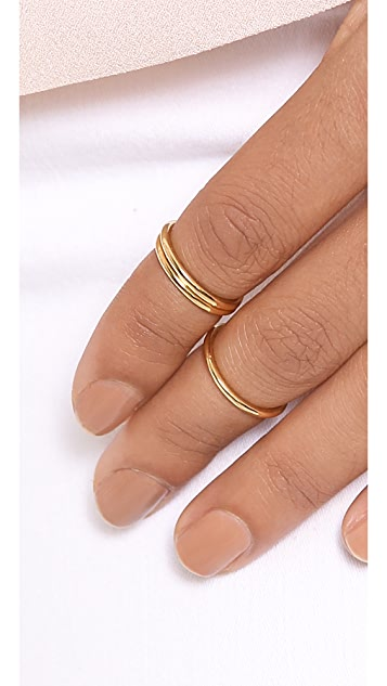 Jules Smith Lexi Midi Rings Set