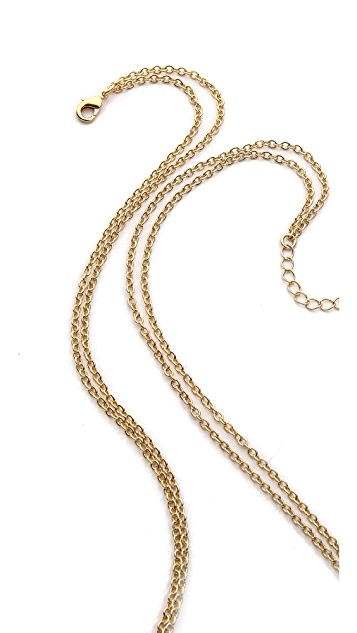 Jules Smith Geo Scarab Necklace