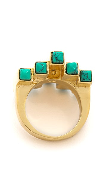 Jules Smith Stone Burst Ring