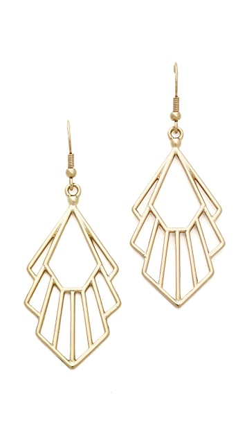 Jules Smith Deco Earrings