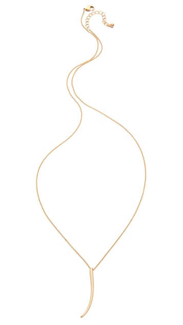 Jules Smith Skinny Horn Necklace
