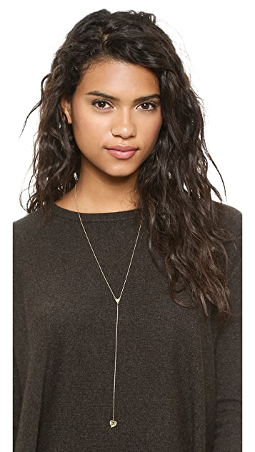 Jules Smith Hanging Heart Necklace