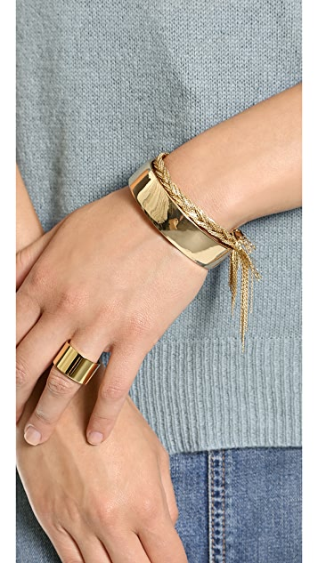 Jules Smith Thick Plate Wrap Bracelet