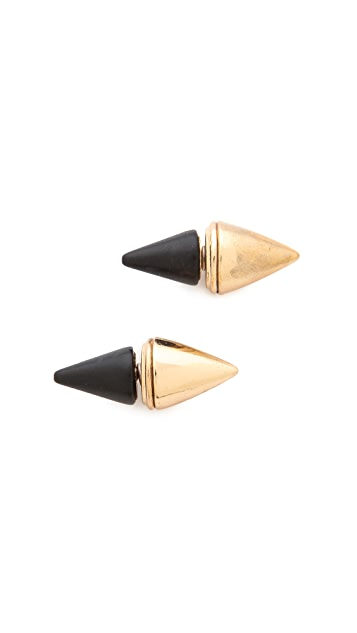 Jules Smith Onyx Dagger Earrings