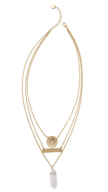 Jules Smith Geo & Crystal Necklace