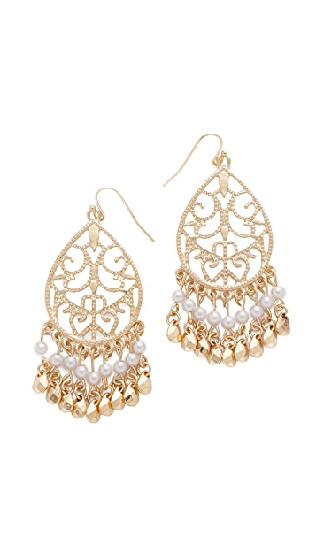 Jules Smith Antique Hanging Earrings