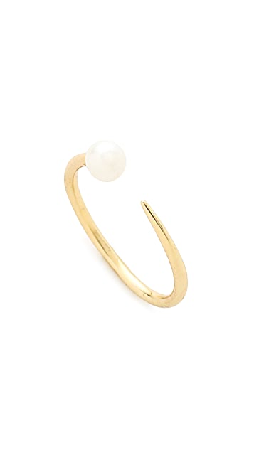 Jules Smith Modern Imitation Pearl Ring