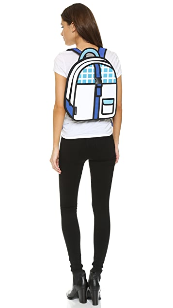 JumpFromPaper Checked Backpack