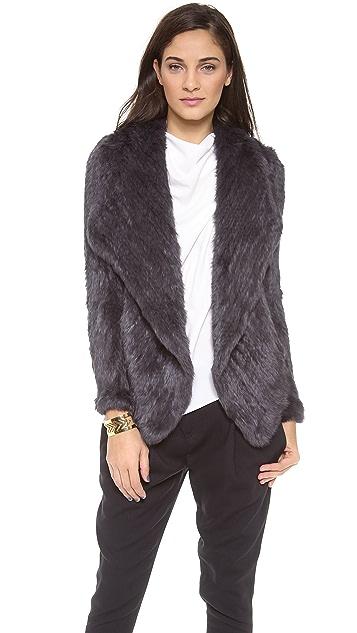 June Rabbit Fur Coat