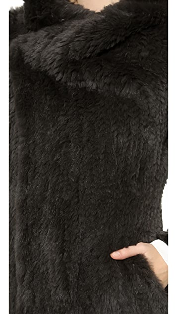 June Sheared Fur Full Coat