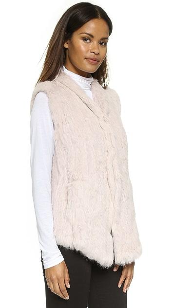 June Fur Vest