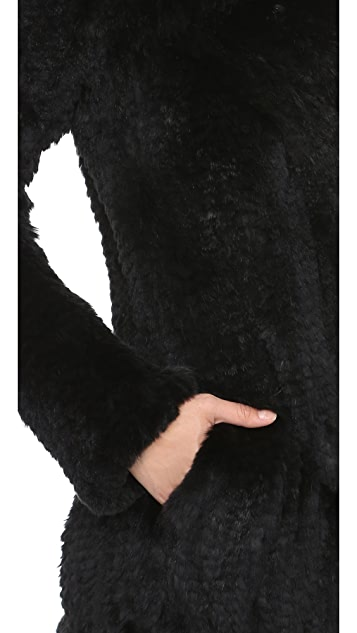 June Oversized Fur Coat